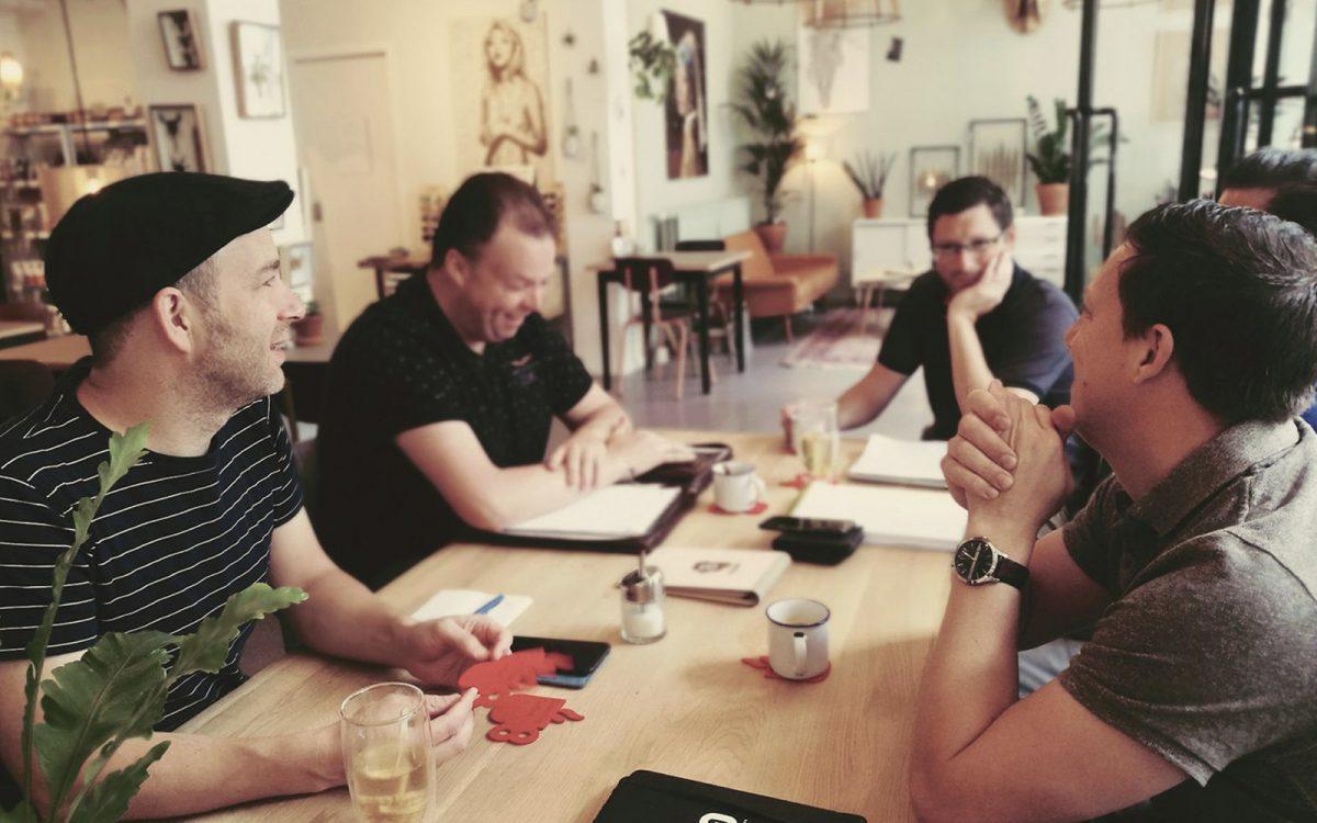 Creatieve brainstorm met Yurr Studio en Brandpunt