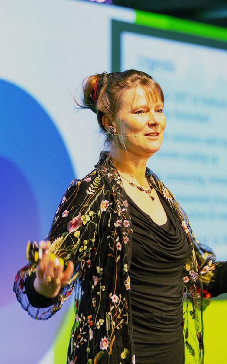 Presentatie Marjan Minnesma Climate Launchpad visuele impact