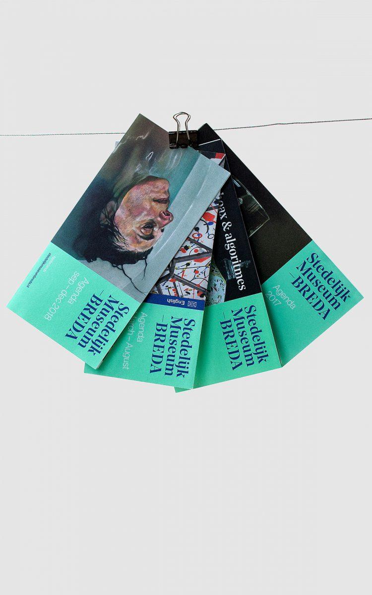 Maandkalender ontworpen voor het Stedelijk Museum Breda kunst kalender kunstplatform