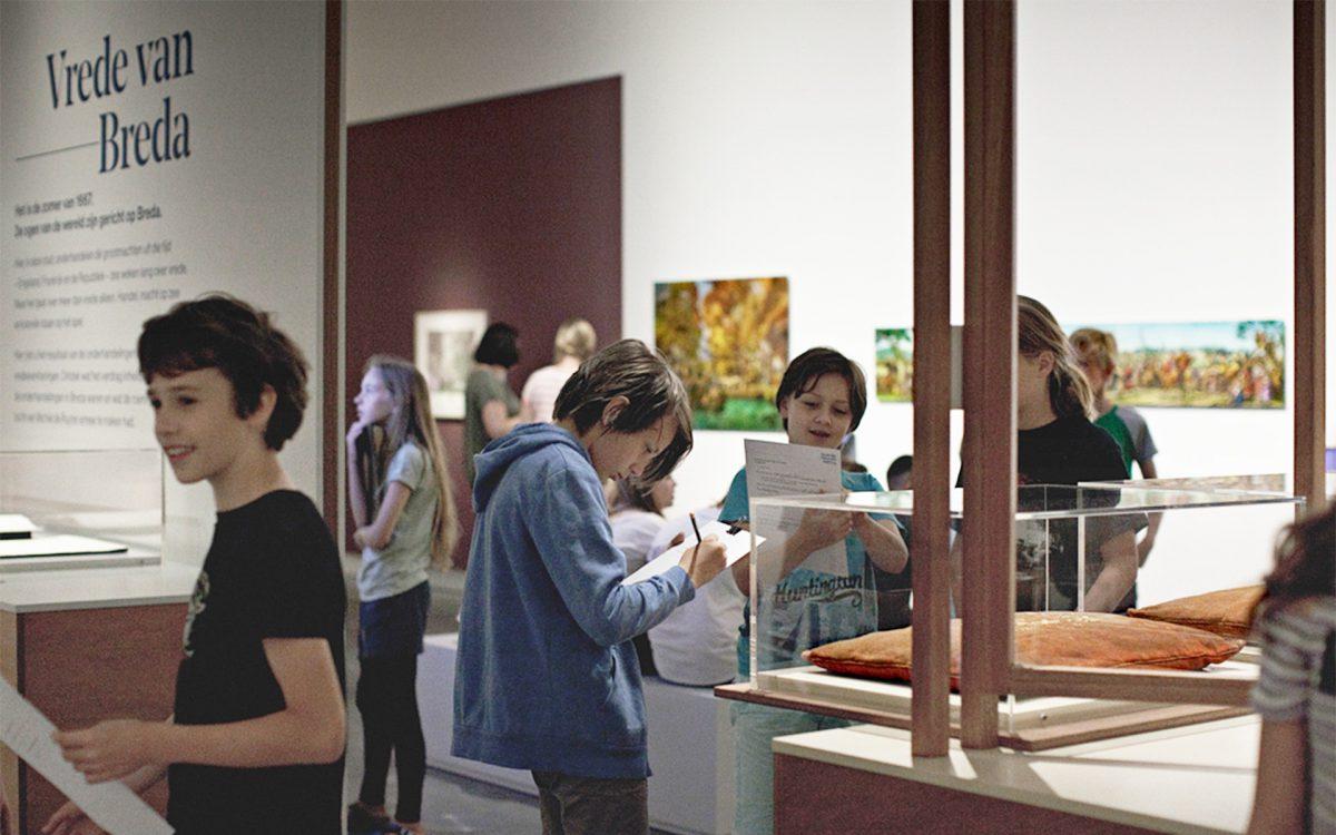 Lesmateriaal ontworpen voor het Stedelijk Museum Breda leeromgeving en ervaringsruimte