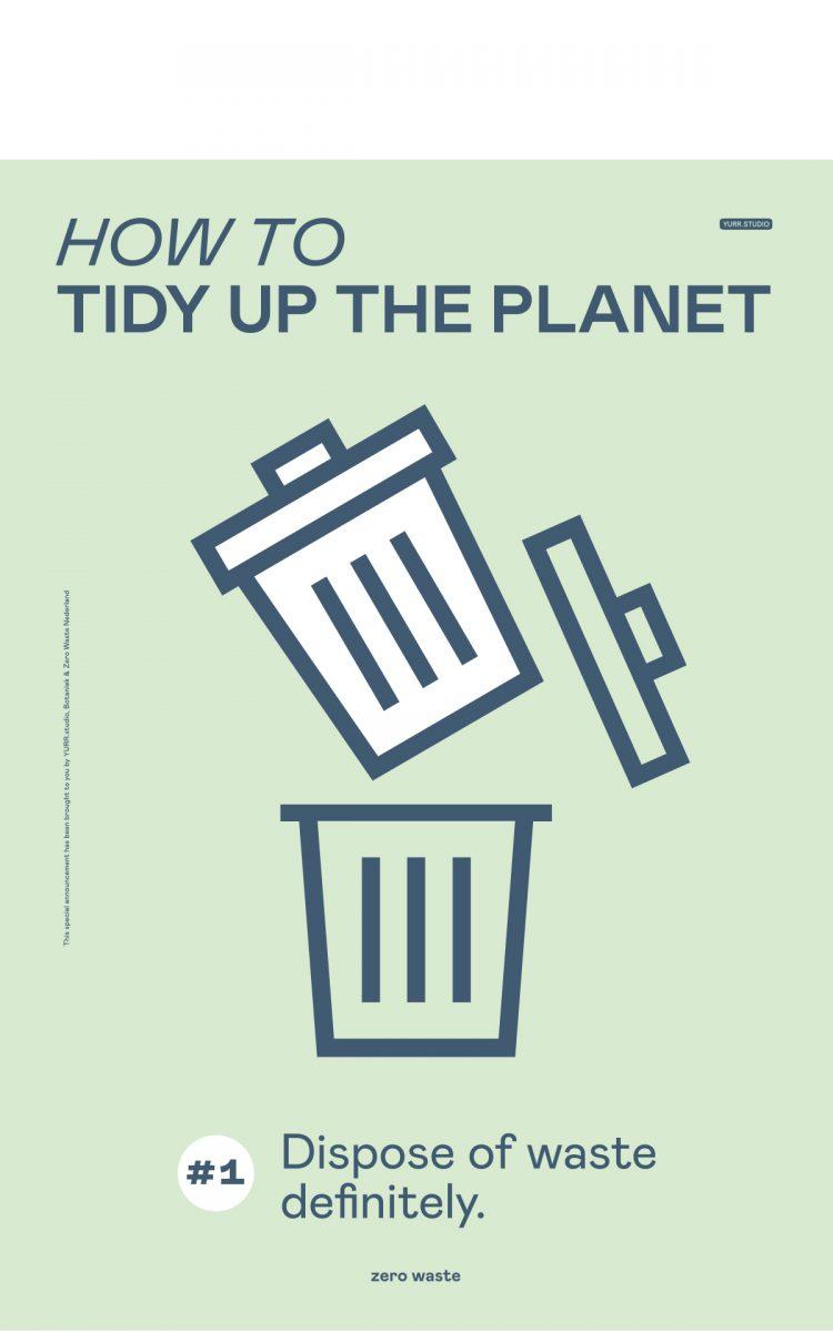 Graphic Matters international Affiche wedstrijd 2020 Zero Waste Nederland