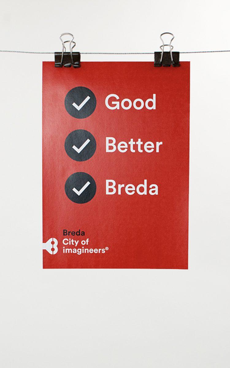 Promo poster City of imagineers Breda Good Better Breda