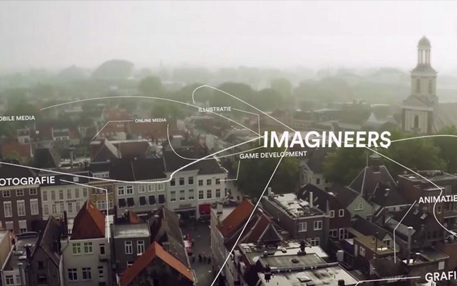 Introductie film voor City of imagineers Breda promotie video