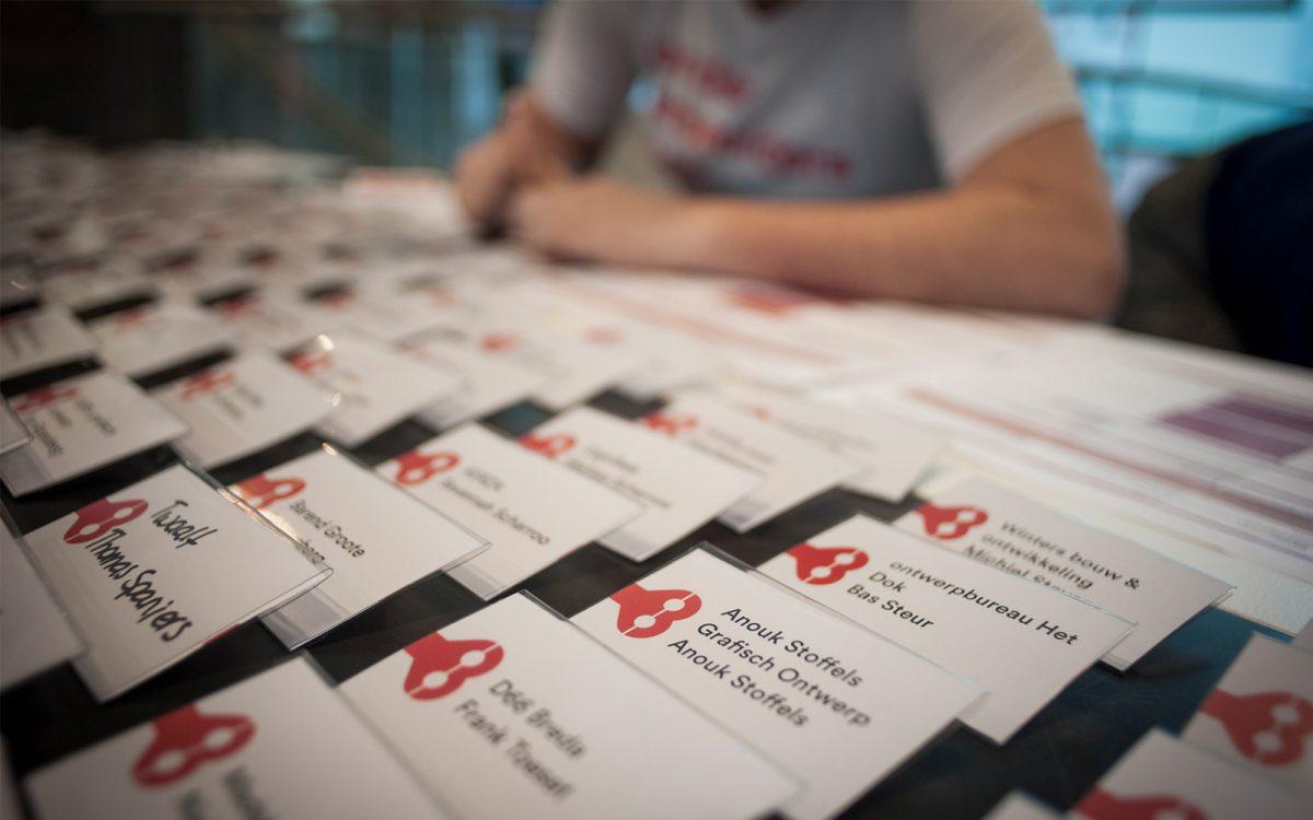 Event branding van City of imagineers Breda impact design