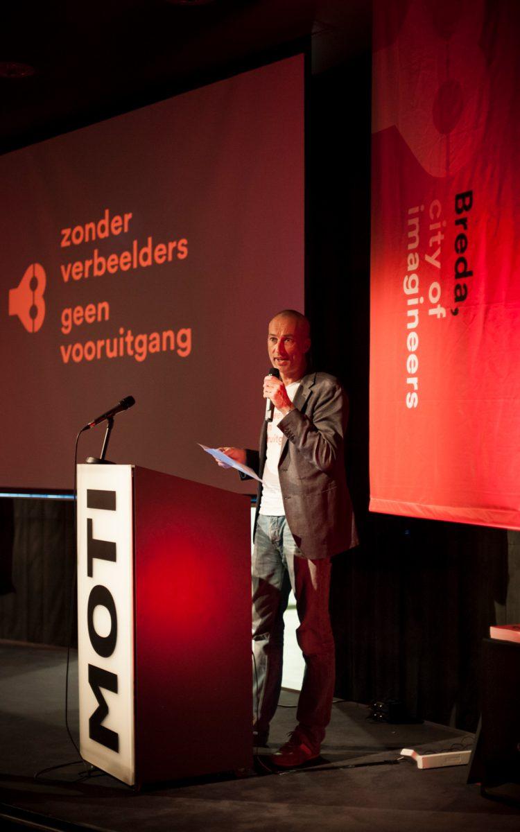 Lancering City of imagineers Breda Evenement onderdelen ontwerpen