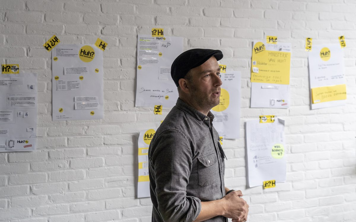 Workshop Visuele Communicatie voor Huh? Wat bedoelt u? Leren om te vereenvoudigen