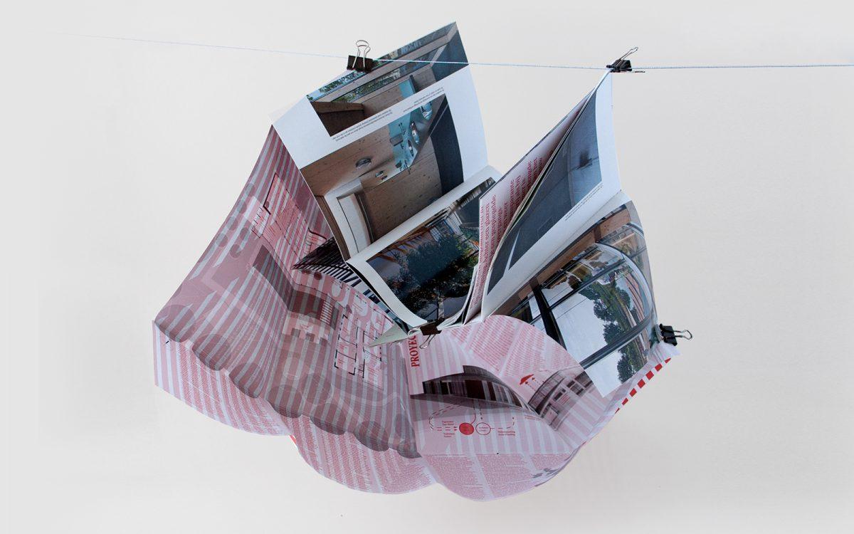 Boek design door de war Van Helvoirt Groenprojecten exploded book