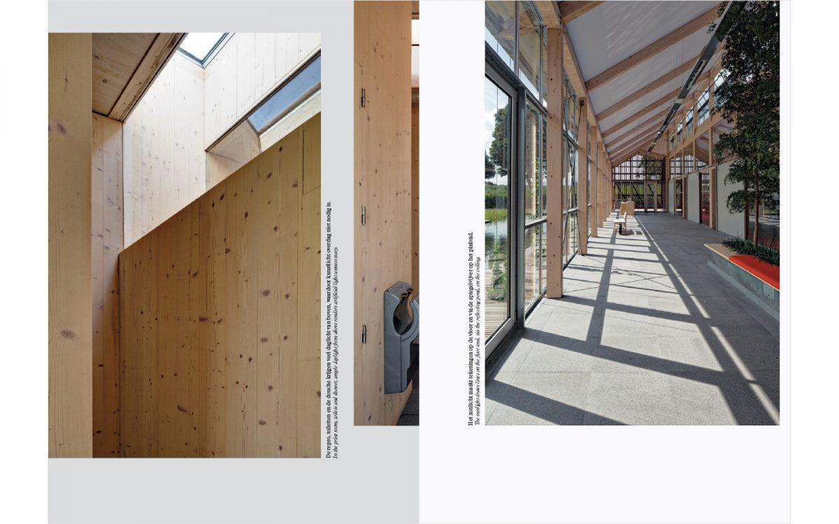 Pagina's uit het boek Van Helvoirt Groenprojecten Nieuwe manier van redactie