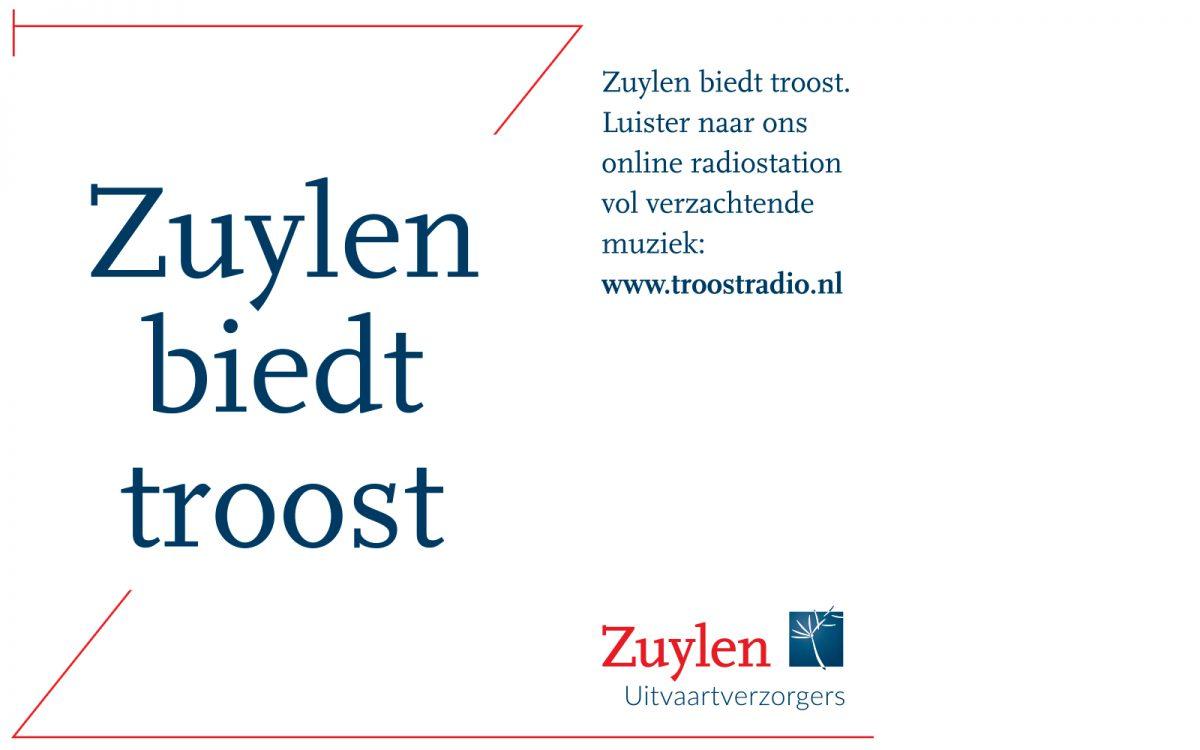 Grafische variant Zuylen Uitvaartverzorger Vergroot naamsbekendheid in de regio