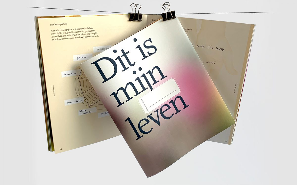 Wilsbeschikking Leefschrift Dit is mijn leven Zuylen Uitvaartverzorger magazine design