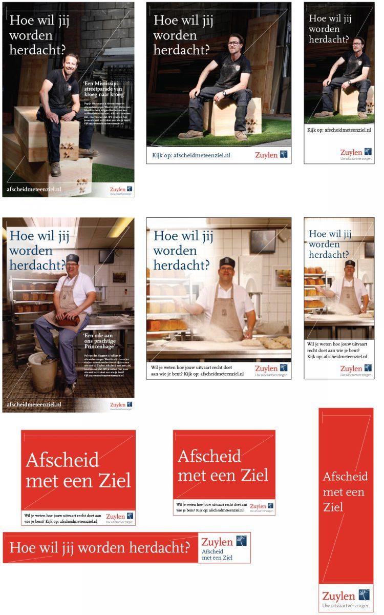Online banners Zuylen Uitvaartverzorger Afscheid met een ziel